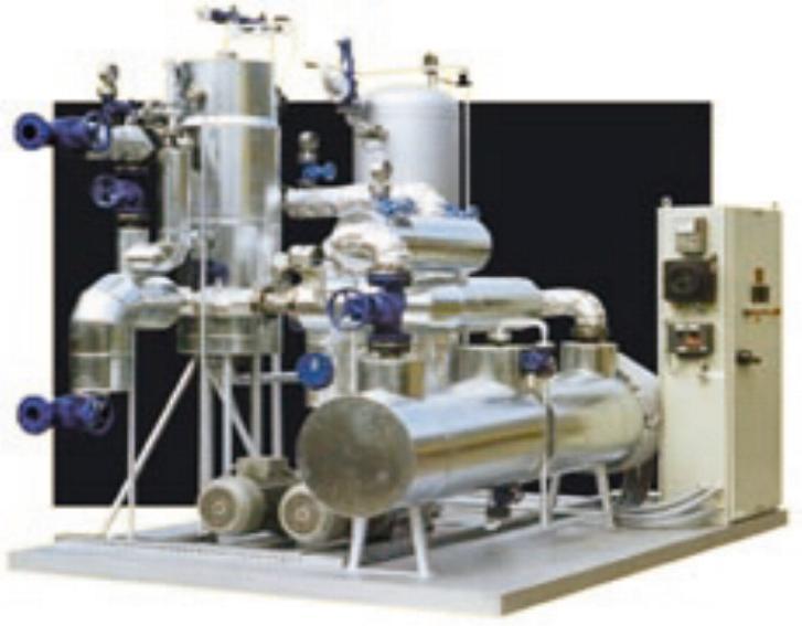 TT BOILERS Industriekessel - für Dampf und Thermoöl
